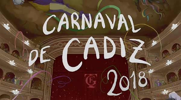 finalistas cartel carnaval cadiz 2018