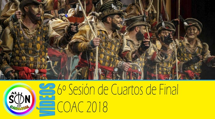Cuartos de final coac 2018 v deos funci n 6 al son del for Cuartos de final coac 2017
