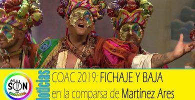 fichaje-baja--comparsa-martinez-ares-coac-2019-componentes
