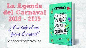 comprar la agenda del carnaval 2018 2019