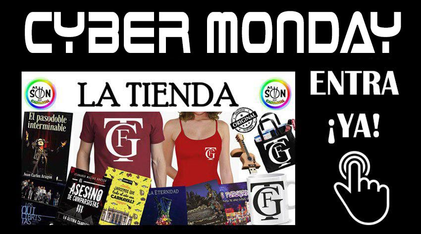 cyber monday carnaval y musica