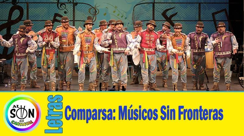 letras comparsa musicos sin fronteras