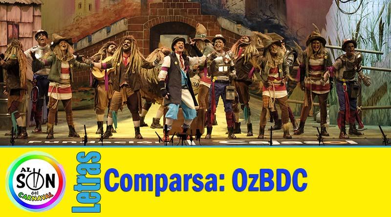 letras comparsa OzBDC