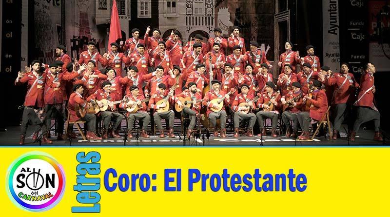 letras coro el protestante
