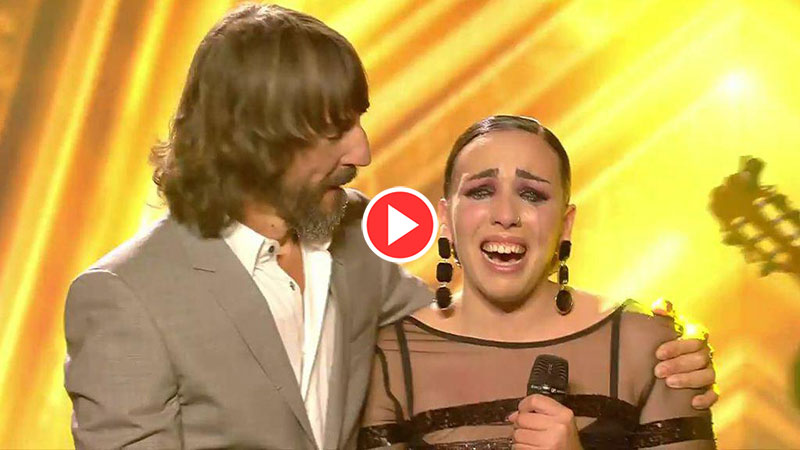 Nazaret Natera Con permiso buenas tardes got talent video