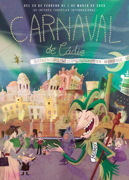 carteles del carnaval de cadiz