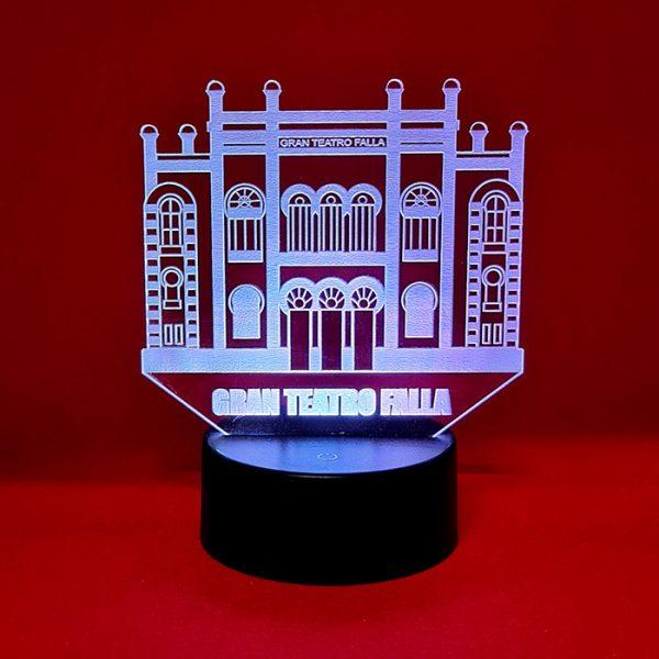 lampara gran teatro falla 3d