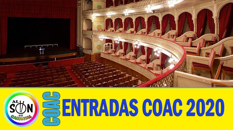 COMPRAR ENTRADAS COAC 2020