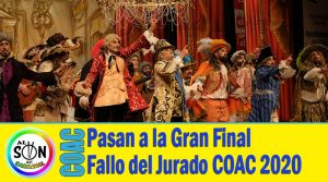 pasan a la final coac 2020