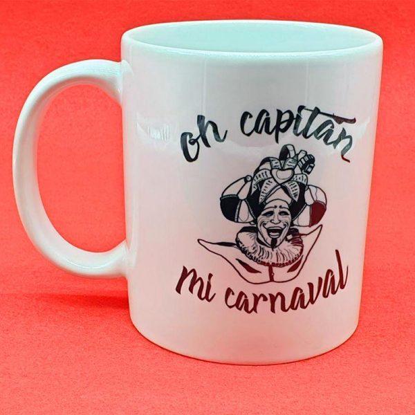 taza oh capitan, mi carnaval