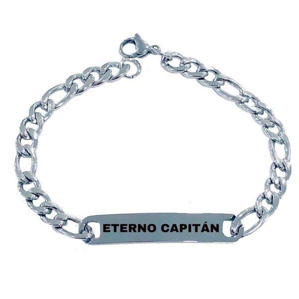 Pulsera Esclava Eterno Capitán Acero Mediana