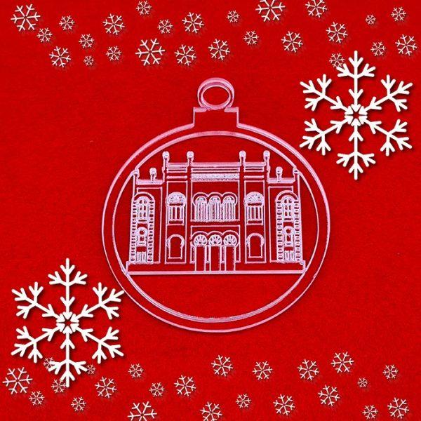 La Bola de Navidad del Gran Teatro Falla