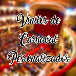 vinilos de carnaval personalizados