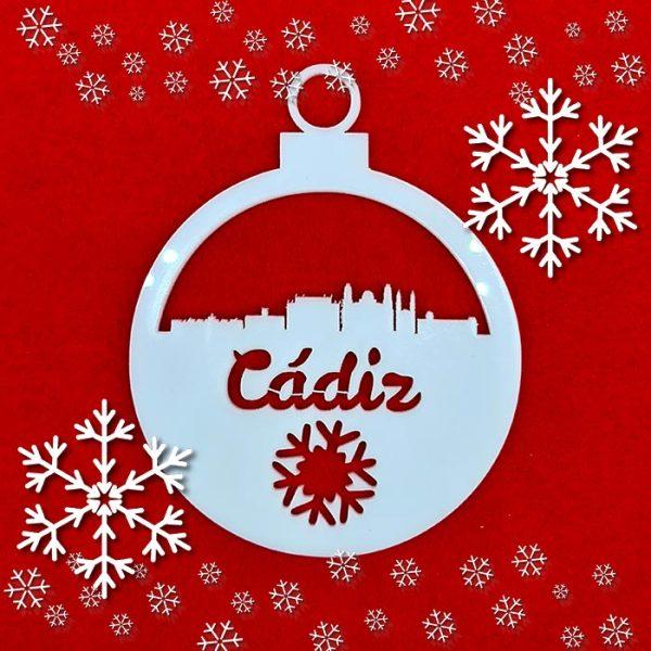 La Bola de Navidad del Skyline de Cadiz