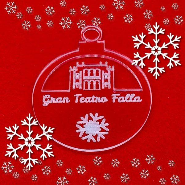 La Bola de Navidad del Teatro Falla