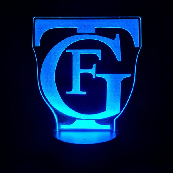 Lampara logo del Falla GTF