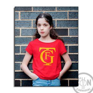 Camiseta para niño Logo gran teatro falla gtf - roja