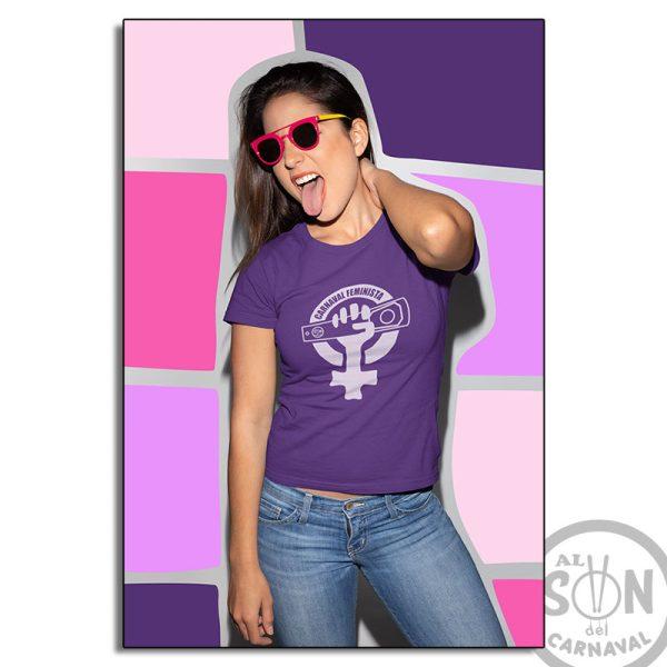 camiseta carnaval feminista